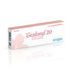 Rx-products Gynaecology Gesdonyl-20